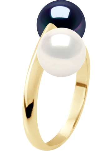 Pearline Gold-Ring mit Perlen