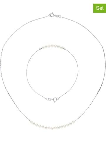 Pearline 2-częściowy zestaw biżuterii