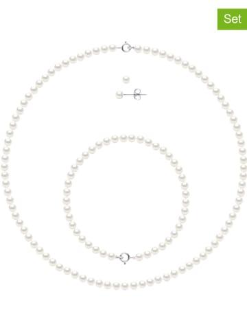 Pearline 3-częściowy zestaw biżuterii