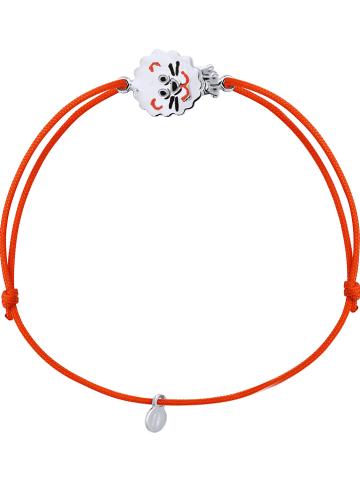 Kidwell Bransoletka w kolorze czerwonymz elementem ozdobnym