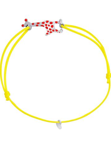 Kidwell Bransoletka w kolorze żółtym z elementem ozdobnym