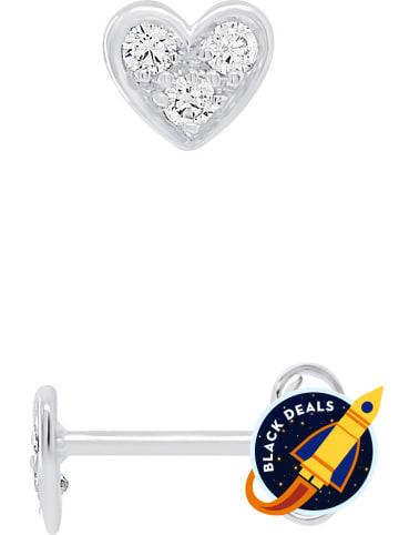 Kidwell Zilveren oorstekers met edelstenen