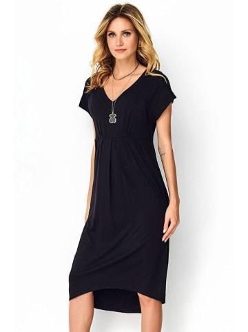 Makadamia Sukienka w kolorze czarnym