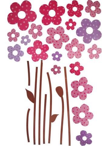 """Magni Naklejka ścienna """"Flowers"""" - 14 x 29 cm (produkt niespodzianka)"""