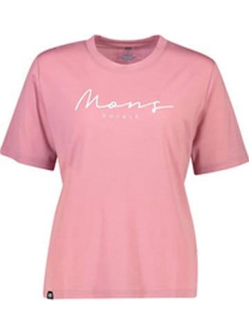 """Mons Royale Trainingsshirt """"Suki"""" in Rosa"""