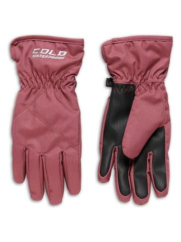 COLD Rękawiczki softshellowe w kolorze jasnoróżowym