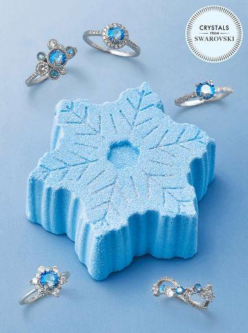 "CHARMED AROMA Schmuck-Badebombe ""Snowflake"", 300 g"