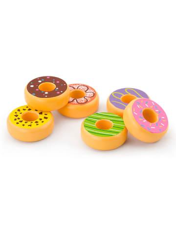VIGA Zestaw donutów - 18 m+