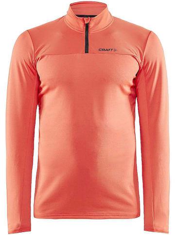 """Craft Koszulka funkcyjna """"Core Gain"""" w kolorze pomarańczowym"""