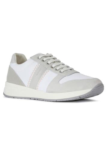"Geox Sneakers ""Bulmya"" in Weiß/ Grau"
