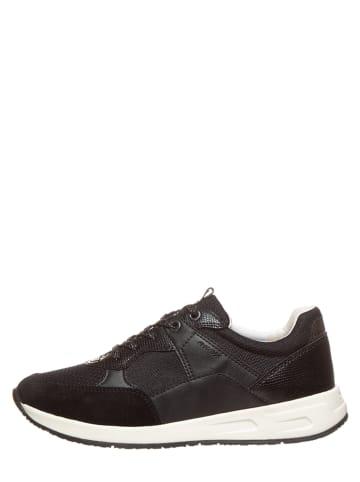 """Geox Sneakers """"Bulmya"""" zwart"""