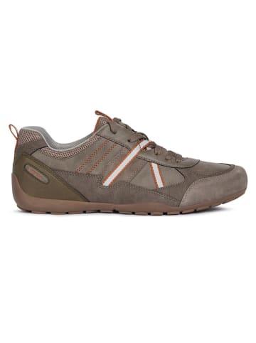 """Geox Sneakers """"Ravex"""" bruin/grijs"""