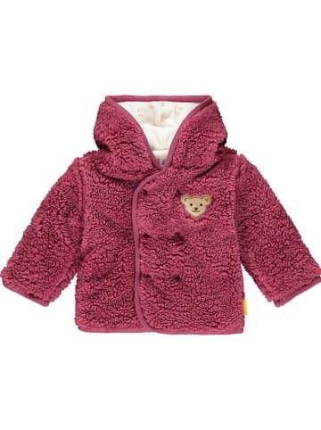 Steiff Fleece vest roze