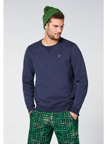 "Chiemsee Sweatshirt ""Eagle Rock"" donkerblauw"