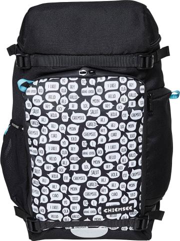 """Chiemsee Plecak """"Stan"""" w kolorze czarnym - 28 x 48 x 18 cm"""