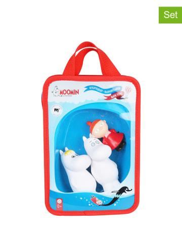 Moomin 4-częściowy zestaw figurek do kąpieli - 0+