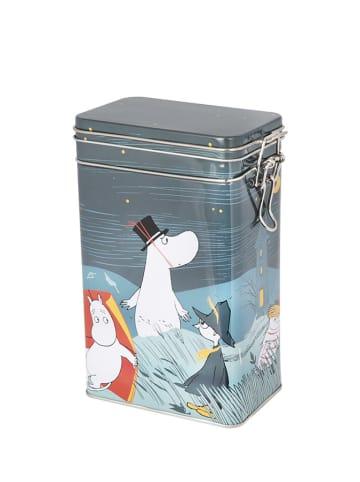Moomin Pojemnik w kolorze szarym ze wzorem na kawę - (S)15 x (W)20 x (G)8 cm
