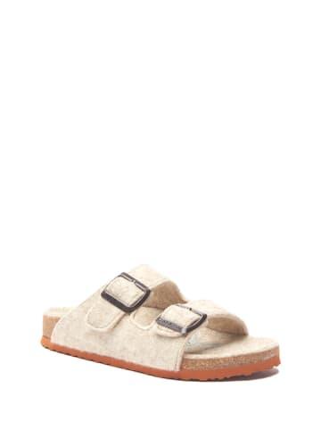 Comfortfusse Slippers beige