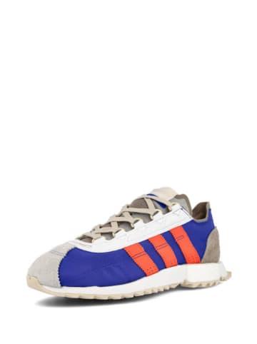 Adidas Sneakersy w kolorze niebiesko-szaro-czerwonym