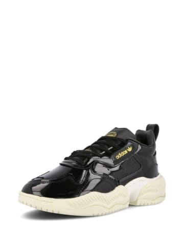 Adidas Skórzane sneakersy w kolorze czarnym