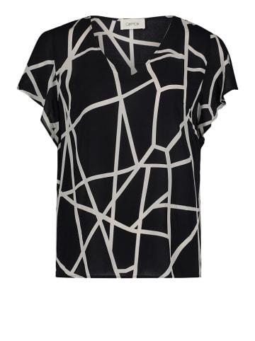 CARTOON Shirt in Schwarz/ Weiß