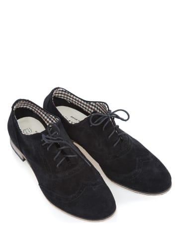 Zapato Leren veterschoenen zwart