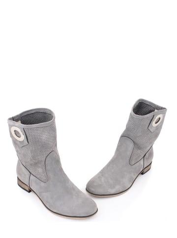 Zapato Leren boots grijs
