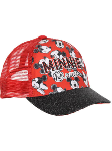 """Disney Minnie Mouse Cap """"Minnie Mouse"""" in Rot"""
