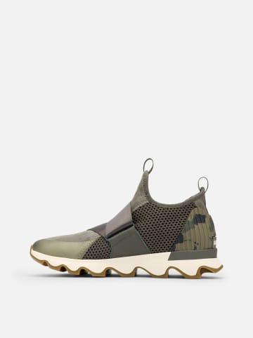 """Sorel Sneakersy """"Kinetic"""" w kolorze khaki"""