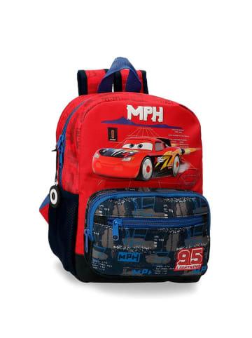 Disney Plecak w kolorze czerwono-czarnym ze wzorem - (S)23 x (W)28 x (G)10 cm