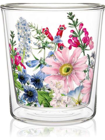 "Ppd Dubbelwandig glas ""Floriculture"" meerkleurig - 300 ml"
