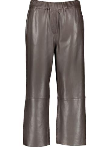 Marc O´Polo Leren culotte bruin