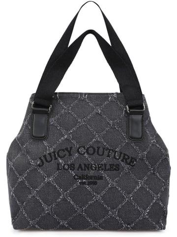 Juicy Couture Shopper bag w kolorze antracytowym - 50 x 35 x 15 cm