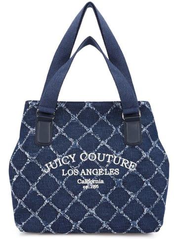 Juicy Couture Shopper bag w kolorze granatowym - 50 x 35 x 15 cm