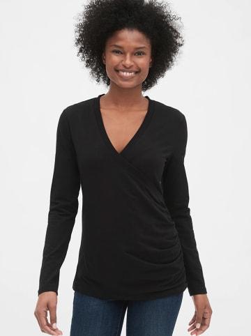 GAP Koszulka ciążowa w kolorze czarnym