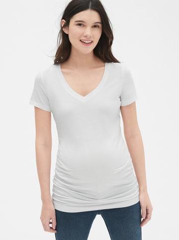 GAP Umstandsshirt in Weiß