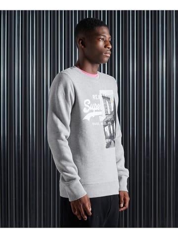 "Superdry Sweatshirt ""VL NYC Photo"" grijs"