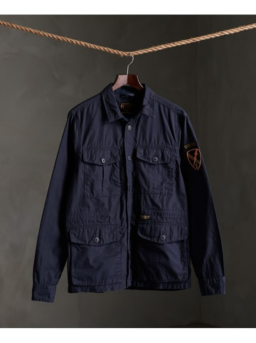 """Superdry Tussenjas """"Field Edition"""" donkerblauw"""