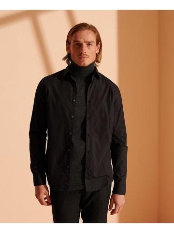 Superdry Koszula w kolorze czarnym
