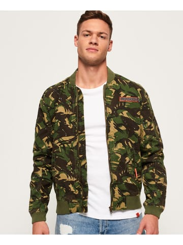 "Superdry Blouson ""Rookie Duty Splatter"" kaki"