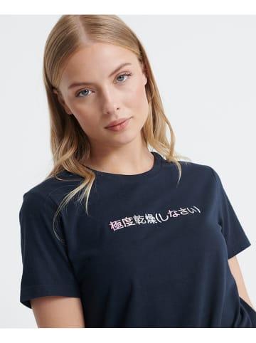 Superdry Koszulka w kolorze granatowym