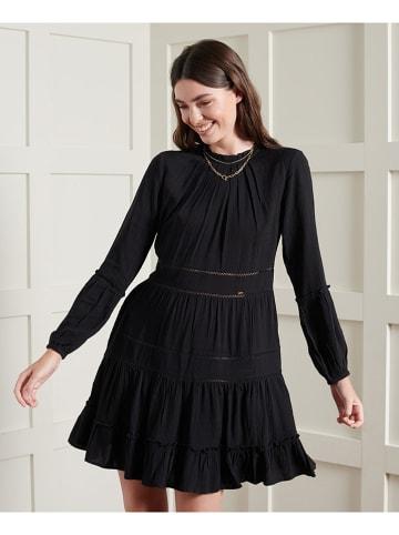 Superdry Sukienka w kolorze czarnym