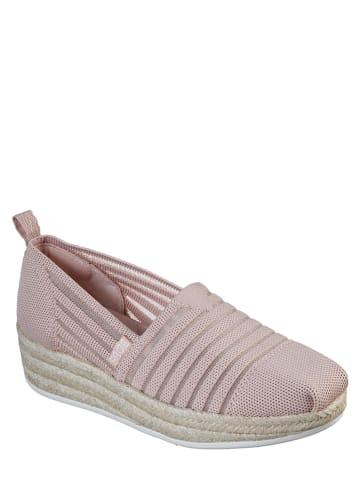 Skechers Slippersy w kolorze jasnoróżowym