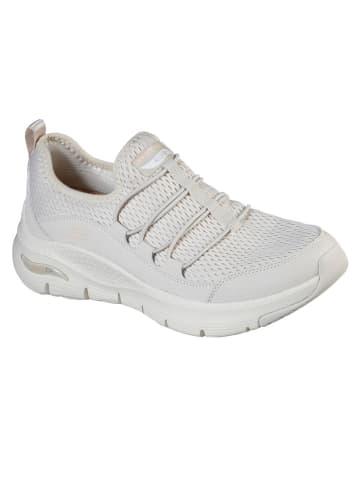 """Skechers Slippersy """"Arch Fit"""" w kolorze białym"""