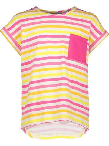 Lamino Shirt in Gelb/ Pink