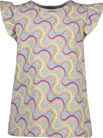 Lamino Shirt grijs gemêleerd/meerkleurig