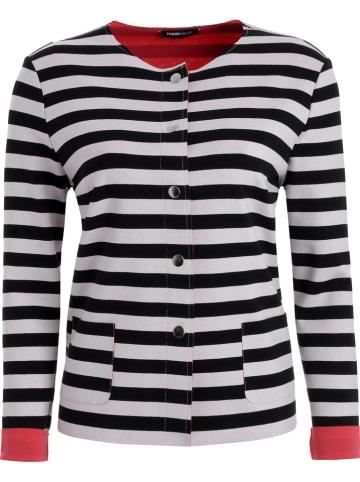 Frank Walder Vest zwart/wit