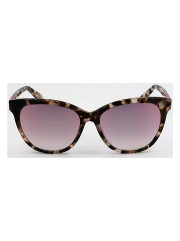 Furla Damen-Sonnenbrille in Braun-Beige/ Rosa