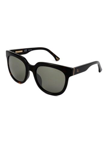 """Zadig&Voltaire Okulary przeciwsłoneczne """"SZV067G"""" w kolorze czarnym"""