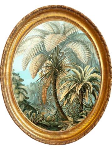 """Madre Selva Dekoracja ścienna """"Vintage Palm"""" - 50 x 40 cm"""